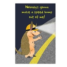 Armadillo Speed Bump Postcards (Package of 8)