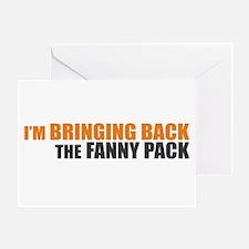 Bringing Back Fanny Pack Greeting Card