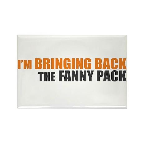 Bringing Back Fanny Pack Rectangle Magnet