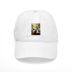 Woman w/Pitcher - Beagle Cap