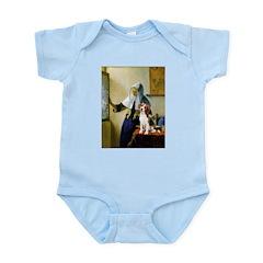 Woman w/Pitcher - Beagle Infant Bodysuit