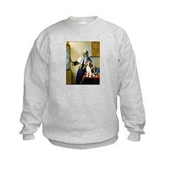 Woman w/Pitcher - Beagle Sweatshirt