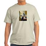 Woman w/Pitcher - Beagle Light T-Shirt