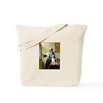 Woman w/Pitcher - Beagle Tote Bag