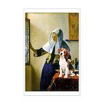 Woman w/Pitcher - Beagle Mini Poster Print