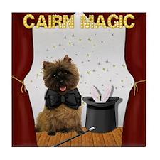 Magical Cairn Terrier Tile Coaster