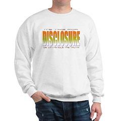 got truth? Disclosure (orange) Sweatshirt