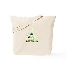 I ate Santa's Cookies Tote Bag