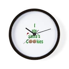 I ate Santa's Cookies Wall Clock