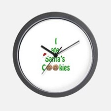 I ate Santa's Cookies Wall Clock