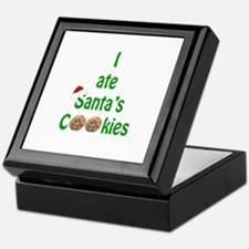 I ate Santa's Cookies Keepsake Box