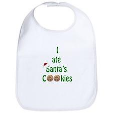 I ate Santa's Cookies Bib