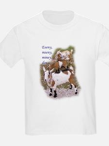 Eeeny Meeny Miney Goat T-Shirt
