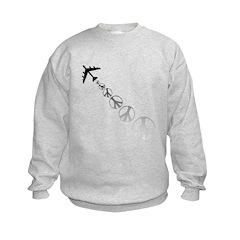 Make Peace Not War Theme Sweatshirt
