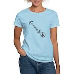 Make Peace Not War Theme Women's Light T-Shirt