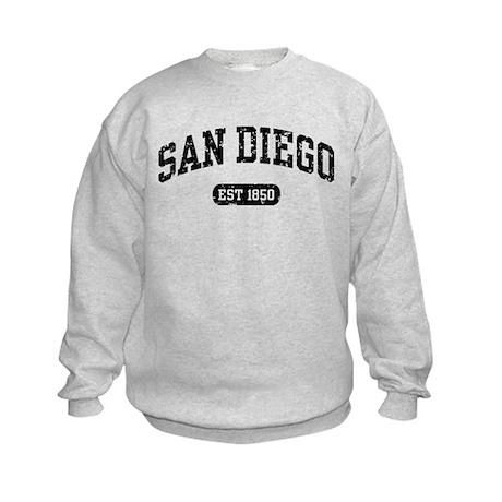 San Diego Est 1850 Kids Sweatshirt