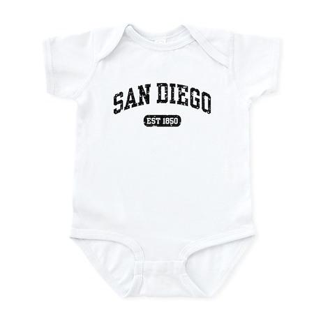 San Diego Est 1850 Infant Bodysuit