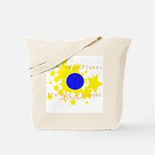 Cute Pluto Tote Bag