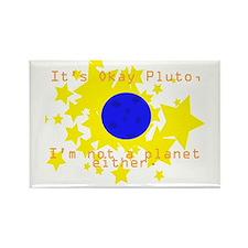 Cute Pluto Rectangle Magnet