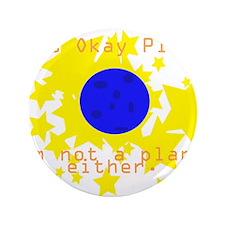 "Cute Pluto 3.5"" Button (100 pack)"