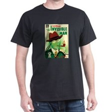 "Multi-Color T-Shirt-""The Invisible Man"""
