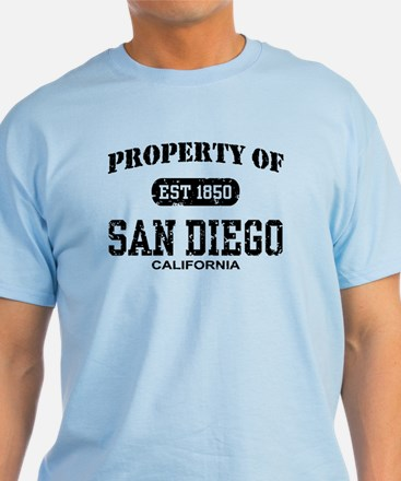 Property of San Diego T-Shirt