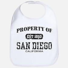 Property of San Diego Bib