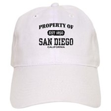 Property of San Diego Baseball Baseball Cap