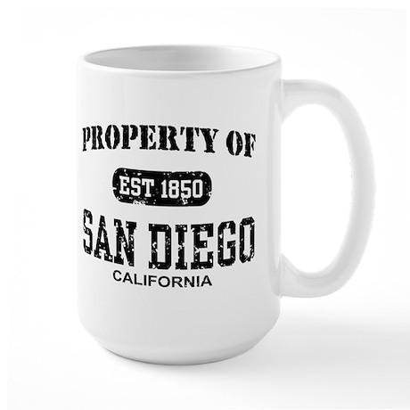 Property of San Diego Large Mug