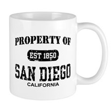 Property of San Diego Mug