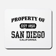 Property of San Diego Mousepad