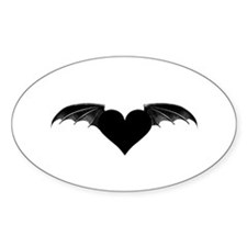 Dragon Heart Oval Decal
