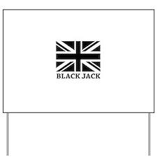 Black Jack Yard Sign