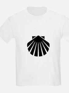 Black Scallop T-Shirt