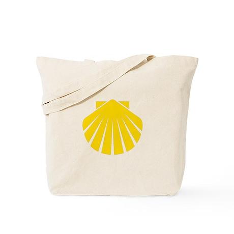 Yellow Scallop Tote Bag