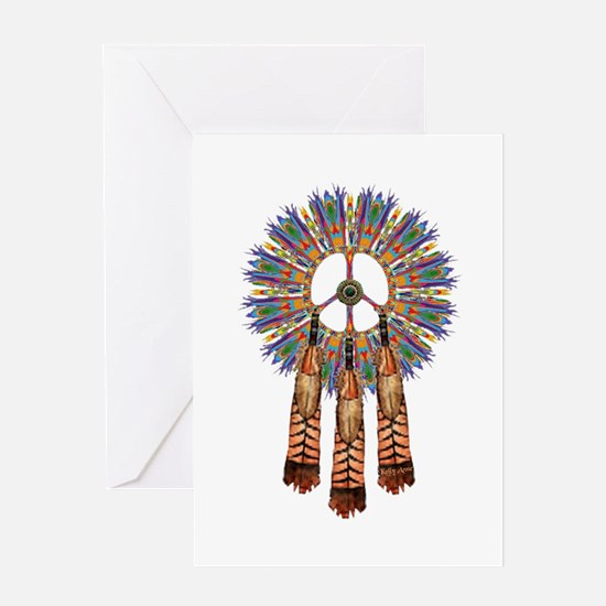 Funny Native americans Greeting Card