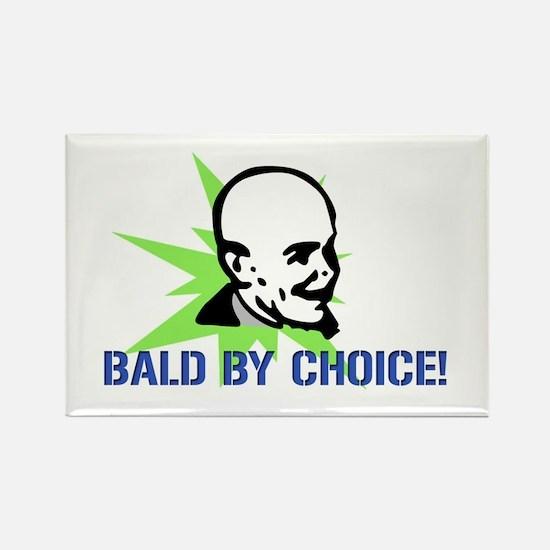 Baldy Rectangle Magnet