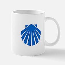 Blue Scallop Mug