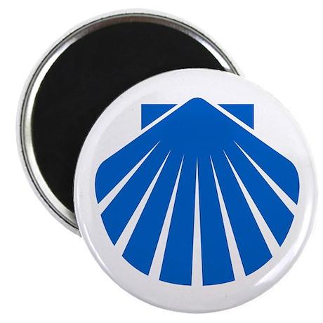 Blue Scallop Magnet