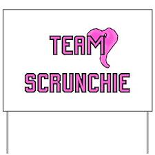Team Scrunchie - Yard Sign