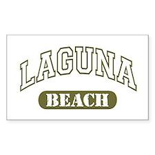 Laguna Beach Rectangle Decal