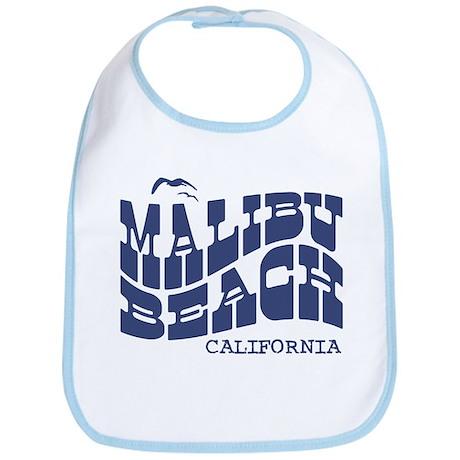 Malibu Beach California Bib