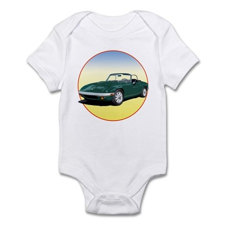 The Avenue Art Green Elan S4 Infant Bodysuit