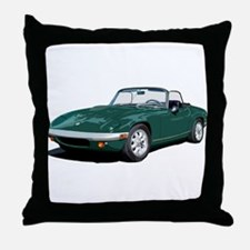 Cute Lotus cars Throw Pillow