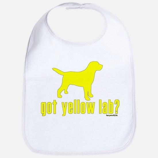 got yellow lab? Bib