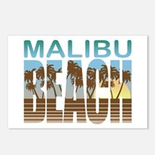 Malibu Beach Postcards (Package of 8)