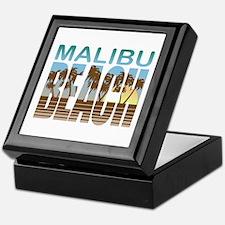 Malibu Beach Keepsake Box