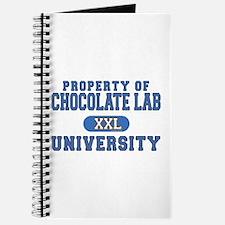 Chocolate Lab U. Journal