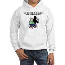 none of them have transference Hoodie