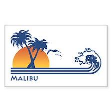 Malibu Rectangle Decal